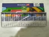 """Пастель масляная художественная для рисования Brauberg Art """"Classic"""", набор 24 цвета, круглое сечение #13, Ирина Б."""