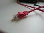 LAN кабель GCR для подключения интернета cat5e RJ45 1Гбит/c 30 м патч корд красный #13, Дмитрий Г.