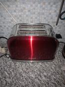 Тостер Kitfort КТ-2036, красный #13, Елена Н.