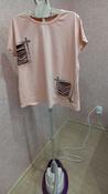 Отпариватель Kitfort КТ-956, белый, фиолетовый #4, Елена М.