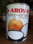 Кокосовый крем Aroy-d 85% жирность 20-22%, 560 мл #5, Владимир М.