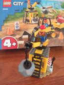 Конструктор LEGO City Great Vehicles 60252 Строительный бульдозер #10, Юлия Р.