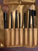 Magruss Профессиональный набор кистей для макияжа (7шт + чехол) #15, Ольга