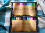 Набор капиллярных ручек линеров STABILO Point 88, 47 цветов, 50 штук, металлический футляр #3, qaw