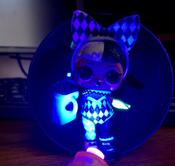 L.O.L. Surprise Кукла ЛОЛ Неон Блестящая серия L.O.L.Неон ЛОЛ Lights Glitter Неон #2, Ксения П.