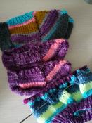 Пряжа для вязания Schachenmayr Originals Bravo Color, фиолетовый деним (02112), 266 м, 50 г #11, Леонтьева Зоя