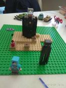 Конструктор LEGO Minecraft 21151 Последняя битва #15, оксана