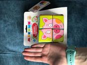 Мякиши мягкие кубики, Собери картинку: Зверята, 8 кубиков #6, Юлия Р.