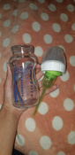 Стеклянная бутылочка Dr. Brown's с широким горлышком, антиколиковая, с силиконовой соской, 270 мл #12, Егорцева П.