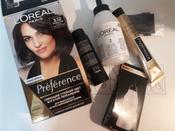 """L'Oreal Paris Стойкая краска для волос """"Preference"""", с комплексом Экстраблеск, оттенок 3.12, Мулен Руж #4, Keptsova Marika"""