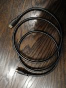 Надежный кабель HDMI 1.5 метра GCR для подключения ПК ТВ Монитора игровых и ТВ приставок черный FullHD 4K 30Hz 1080P 144Hz 24К GOLD провод HDMI-HDMI #11, Б Александр