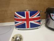 Тостер на 2 ломтика с британским флагом #1, Алякина Елена