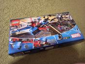 Конструктор LEGO Marvel Super Heroes 76150 Реактивный самолёт Человека-Паука против Робота Венома #8, Елена