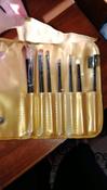 Magruss Профессиональный набор кистей для макияжа (7шт + чехол) #8, Яковлева Лера