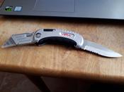 Нож универсальный складной 2 в 1 VIRA RAGE #10, Иван С.