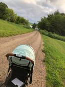 Прогулочная коляска Nuovita Corso, оливковый серебристый #14, Гаврилова С.