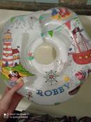 Круг надувной на шею для купания новорожденных и малышей Robby от ROXY-KIDS #6, Марина О.