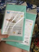 Клеенка подкладная резиновая с ПВХ-покрытием ROXY-KIDS 68х100 см, цвет бирюзовый #4, Анастасия А.