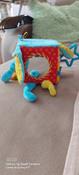 Развивающий кубик для самых маленьких с зеркалом и прорезывателем Слон, Мякиши #12, Евгения С.