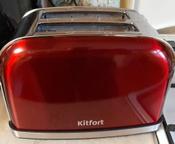 Тостер Kitfort КТ-2036, красный #166, Андрей С.