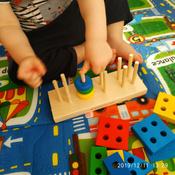 Краснокамская игрушка Набор строительных деталей Геометрик #6, Кристина