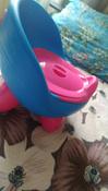 Детский горшок Pituso Луноход голубой (зеленые ножки) #3, Галина Г.