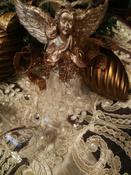 Ёлочная игрушка Magic Time прозрачный, золотистый #4, Наумова Ольга