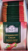 Ahmad Tea Strawberry Cream черный чай в пакетиках, 25 шт #12, Sahs