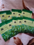 FARMSTAY Маска для Лица с Зеленым Чаем MASK SHEET GREENTEA 23 мл - 10 шт #6, Юлия