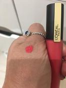 Губная помада-тинт для губ L`Oreal Paris Rouge Signature Parisian Sunset, матовый, №128 #6, Рузалия Б.