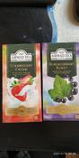 Ahmad Tea Strawberry Cream черный чай в пакетиках, 25 шт #11, Елена Н.
