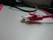 LAN кабель GCR для подключения интернета cat5e RJ45 1Гбит/c 30 м патч корд красный #14, Дмитрий Г.