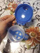 Чашка-непроливайка, Canpol Babies  180 мл. Медвежонок 9+, цвет: синий #5, Анна Д.