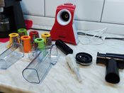 Измельчитель электрический Kitfort КТ-1382, белый, красный #6, Сергей