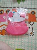 Нагрудник гибкий с кармашком 6 месяцев + розовый BabyOno #3, Марина С.