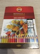 Набор карандашей акварельных MONDELUZ, 36 цв #137, Юлия