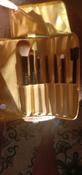 Magruss Профессиональный набор кистей для макияжа (7шт + чехол) #9, Яковлева Лера