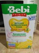 Bebi Премиум каша Кукурузная низкоаллергенная с пребиотиками, с 5 месяцев, 200 г #5, Александр Ч.