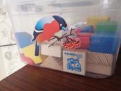 Деревянный конструктор Томик Цветной, игровой набор из 43 деталей #2, Анастасия