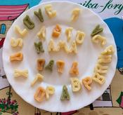 Dalla Costa Алфавит без яиц со шпинатом и томатом, 250 г #11, Татьяна А.