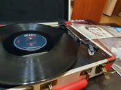 Проигрыватель виниловых дисков Crosley Executive Deluxe, белый, коралловый #13, Мария