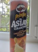 Чипсы Pringles Asian Collection, рисовые, со вкусом курицы с индийскими специями Тикка масала, 160 г #4, Евгения К.