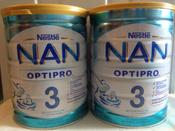 Смесь NAN 3 OPTIPRO, для роста, иммунитета и развития мозга, с 12 месяцев, 800 г #9, Наталия С.