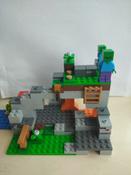 Конструктор LEGO Minecraft 21141 Пещера зомби #7, Владислав К.