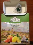 Ahmad Tea Citrus Sorbet зеленый чай в пирамидках, 20 шт #2, Анна П.