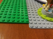 Конструктор LEGO Classic 10701 Строительная пластина серого цвета #5, Вероника С.