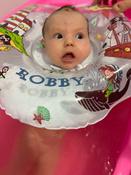 Круг надувной на шею для купания новорожденных и малышей Robby от ROXY-KIDS #3, Виктория М.