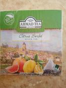 Ahmad Tea Citrus Sorbet зеленый чай в пирамидках, 20 шт #1, Алия Б.