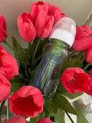 Стеклянная бутылочка Dr. Brown's с широким горлышком, антиколиковая, с силиконовой соской, 270 мл #6, Валерия М.
