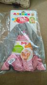 Игрушка комфортер для новорожденных, Плюш серо-коричневый, Мякиши #8, Алина Т.